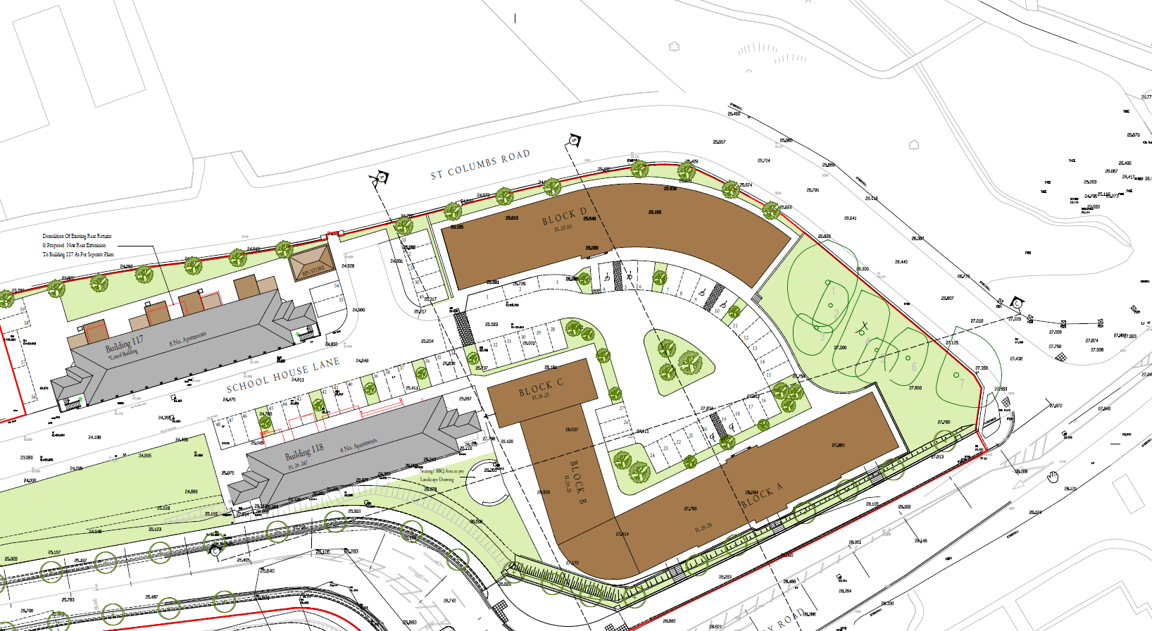 21 feb 2021 - site plan
